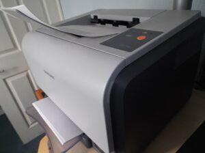 kolorowa drukarka samsunga